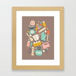 In the Kitchen Framed Art Print
