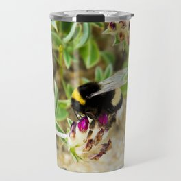 bumble bee on the dunes I Travel Mug