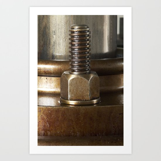 Screw yoo Art Print