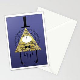 The beast with just one eye Stationery Cards