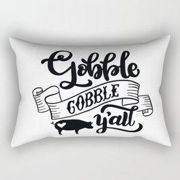 Gobble Gobble Y'All Rectangular Pillow
