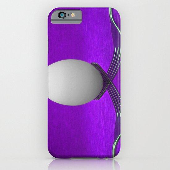 Balanced Breakfast in Purple iPhone & iPod Case