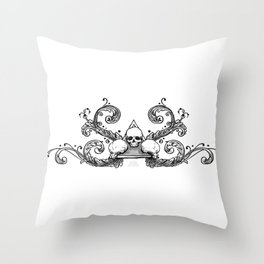Triune Thought Throw Pillow