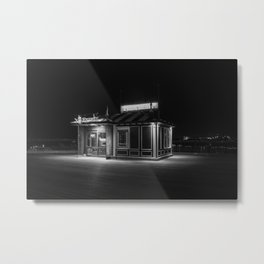 Funicular Booth Metal Print