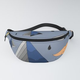 Blue Py Fanny Pack