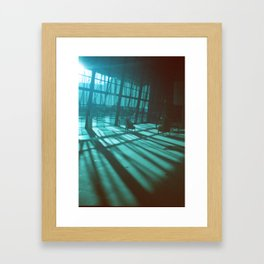 bluespace Framed Art Print