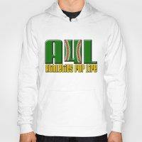 oakland Hoodies featuring Oakland A's Shirt Design by John Alim Studios