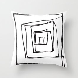 Squirl Throw Pillow