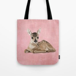 Small fawn Tote Bag