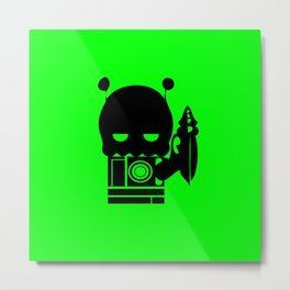 Alien Indifference Metal Print