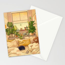 Cozy Space Stationery Cards