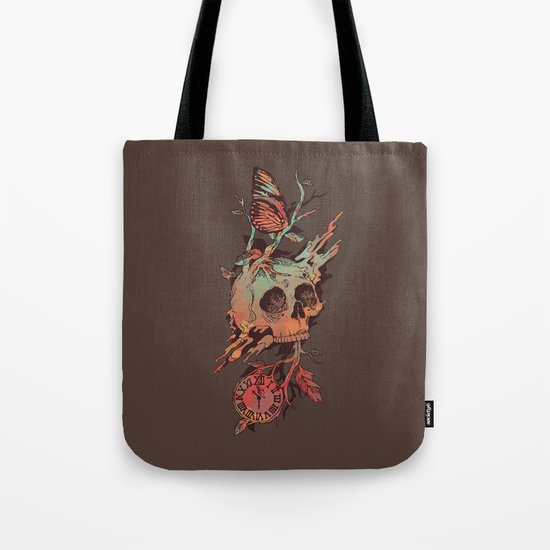 Mors et Natura Tote Bag