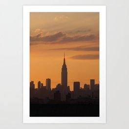 Empire State of Mind Art Print