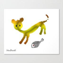 Catty Affairs Canvas Print