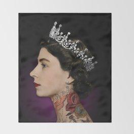 Queen Noir Throw Blanket