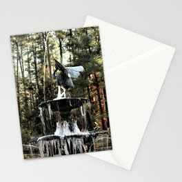 Winter's Lace Stationery Cards