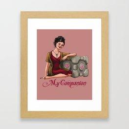 My Companion Framed Art Print