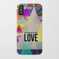 """pocketfuel iPhone & iPod Cases featuring 1 Corinthians 13:13 """"And the greatest of these is Love"""" by Pocket Fuel"""