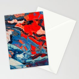 Let frustrations flow Stationery Cards
