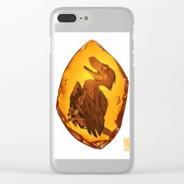 Hidden for 99 million years Clear iPhone Case
