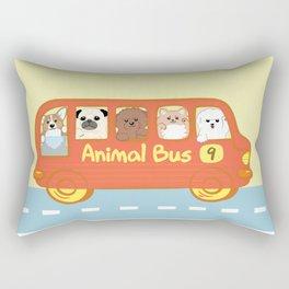 Animal bus no.9 Rectangular Pillow