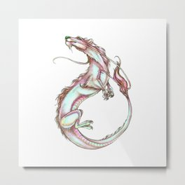 Luckdragon Interpretation Metal Print