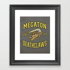 Megaton Deathclaws Framed Art Print