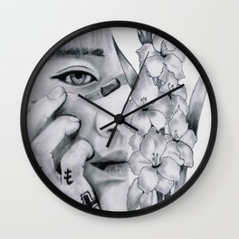 Phoenix | Chanyeol Wall Clock