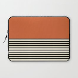 Sunrise / Sunset I - Orange & Black Laptop Sleeve