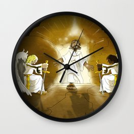 Yeshua has Risen! Wall Clock