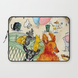 The Dogs Take Over Coney Island Laptop Sleeve