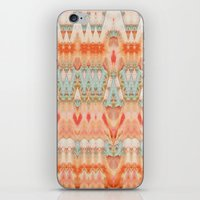 peach iPhone & iPod Skins featuring Peach by Zephyr