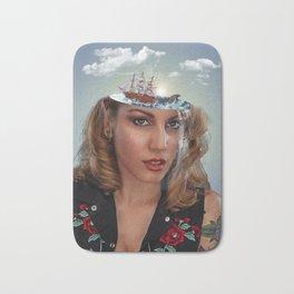 Ocean Brain - Photo Manipulation Bath Mat