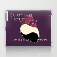 Out Of The Heart Laptop & iPad Skin