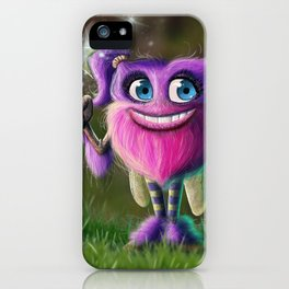 Hairies - Izzy iPhone Case