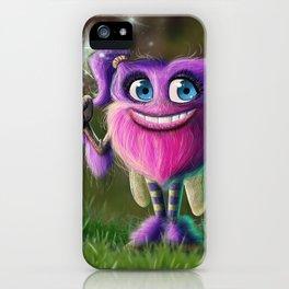Hairies - Izzy iPhone Case