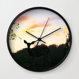 Deerest Wall Clock