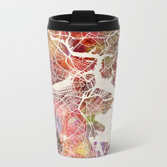 Boston Metal Travel Mug