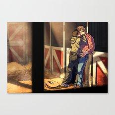 William and Theodore 22 Canvas Print
