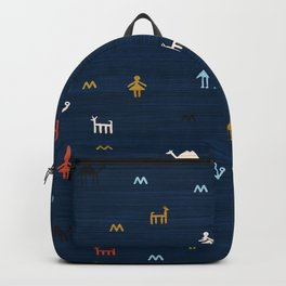 Jarmo in Blue Backpack