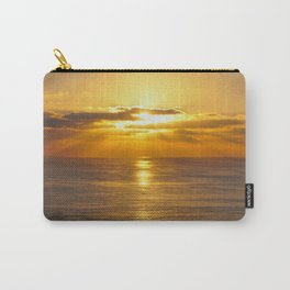 Golden Southern California Summer Sunset Carry-All Pouch