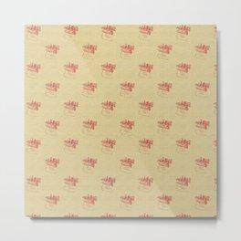 Little polka dots - Christmas present Metal Print