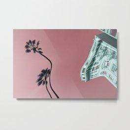 Palm Warp Metal Print