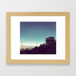 Jerome Asylum Framed Art Print