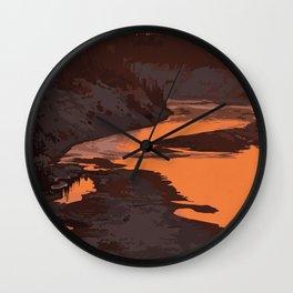 Twin Falls Gorge Territorial Park Wall Clock