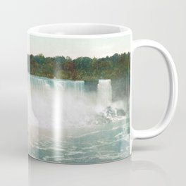 American Falls from Canada - Vintage Niagara - 1898 Coffee Mug