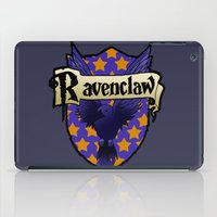 ravenclaw iPad Cases featuring Ravenclaw Crest by AriesNamarie