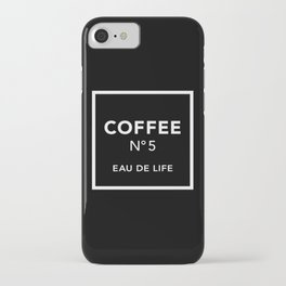 Black Coffee No5 iPhone Case