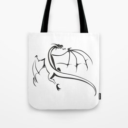 A simple flying dragon Tote Bag