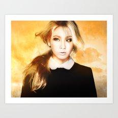 Ciel 2ne1 kpop fanart Art Print
